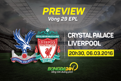 Preview: Crystal Palace - Liverpool