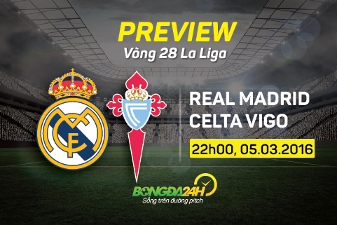 Preview: Real Madrid - Celta Vigo