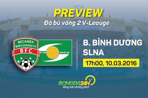 Preview: Binh Duong - SLNA
