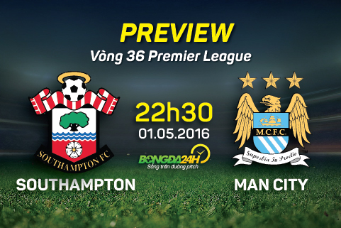 Preview: Southampton - Man City