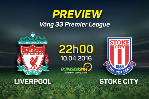 Preview: Liverpool - Stoke City