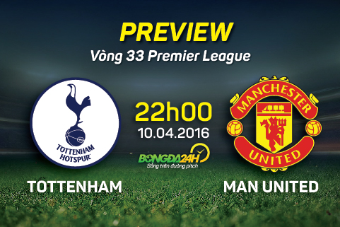 Preview: Tottenham - Manchester United