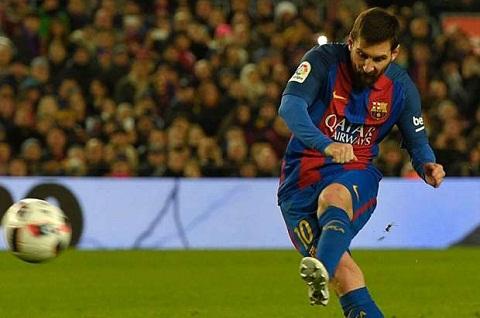 Messi tiep tuc toa sang truoc Athletic Bilbao