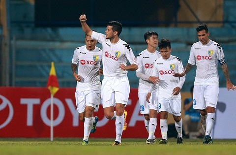 Ha Noi FC gap kho truoc tran gap Kitchee hinh anh goc