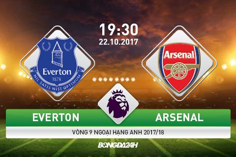 Giai ma tran dau Everton vs Arsenal 19h30 ngay 2210 (Premier League 201718) hinh anh goc