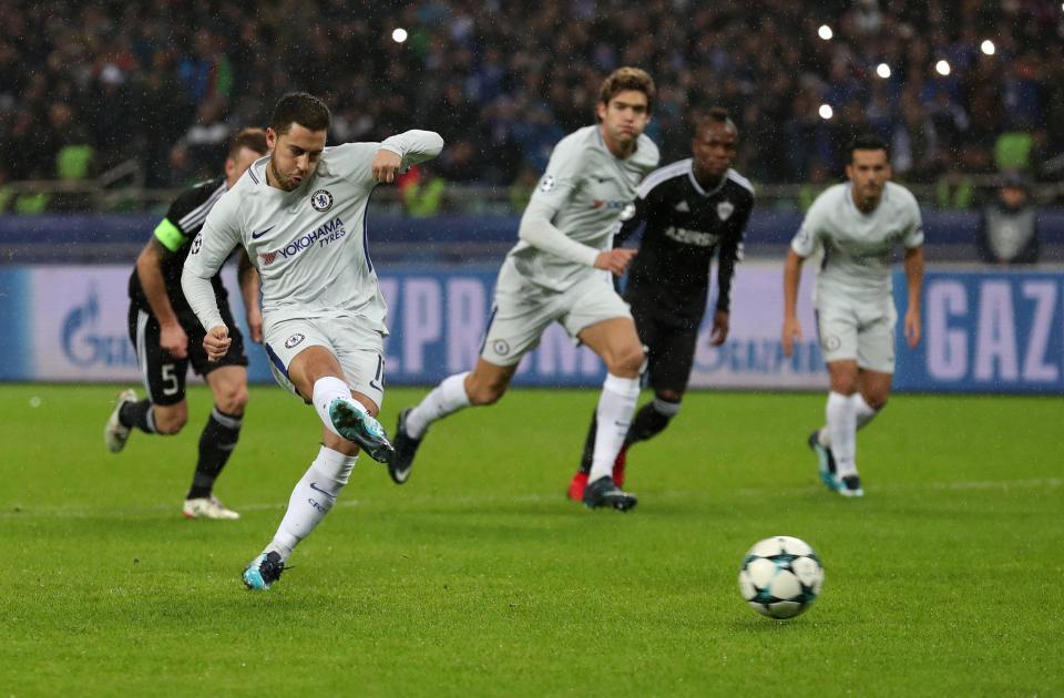 Hazard nhan mua loi khen sau chien thang cua Chelsea