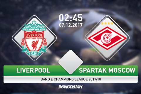 Preview Liverpool vs Spartak