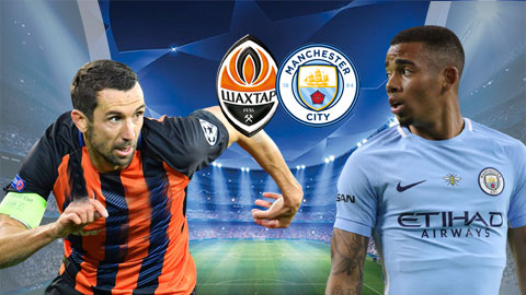 Shakhtar Donetsk vs Man City