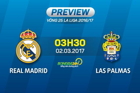 Giai ma tran dau Real Madrid vs Las Palmas 03h30 ngay 23 (La Liga 201617) hinh anh goc