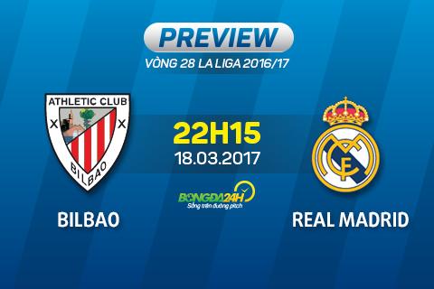 Giai ma tran dau Bilbao vs Real Madrid 22h15 ngay 183 (La Liga 201617) hinh anh goc