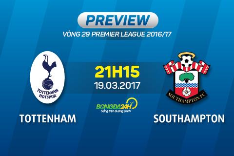 Giai ma tran dau Tottenham vs Southampton 21h15 ngay 193 (NHA 201617) hinh anh goc