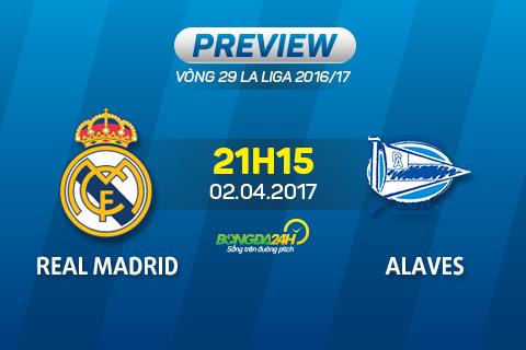 Nhan dinh Real Madrid vs Alaves 21h15 ngay 24 (La Liga 201617) hinh anh goc