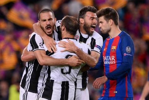 HLV Allegri Juventus da ca ngay van giu sach luoi truoc Barcelona hinh anh goc