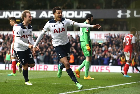 Du am Tottenham 2-0 Arsenal Khi Spurs con chang can an mung Arsenham's Day hinh anh goc 3