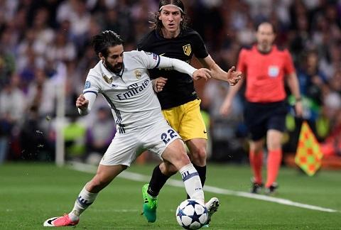 Zidane xuat chieu doc Phu thuy Isco xuyen thung nhung tam dem Atletico hinh anh goc