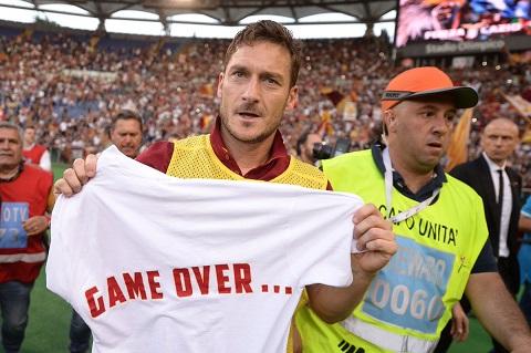 Chinh thuc Totti se giai nghe vao cuoi mua hinh anh goc