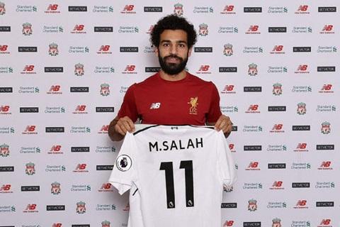 Mohamed Salah la ban hop dong hoan hao cua Liverpool