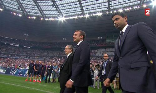 Tổng thống Pháp Emmanuel Macron khuyên huỷ giải Ngoại hạng hình ảnh