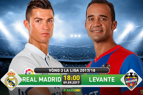 Truc tiep Real Madrid vs Levante