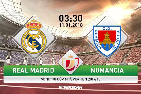 Real Madrid vs Numancia (3h30 ngay 111) Vot vat chut niem tin hinh anh goc
