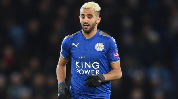 Riyad Mahrez tri ân Leicester hình ảnh