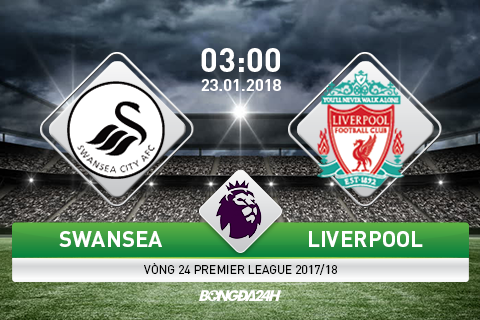 TRUC TIEP Swansea vs Liverpool 03h00 ngay 231 (Premier League 201718) hinh anh goc