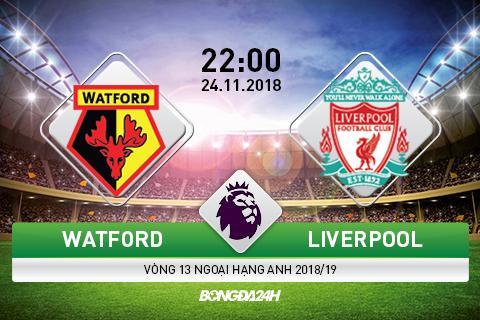 Watford vs Liverpool 22h00 ngày 2411 (Premier League 201819) hình ảnh gốc