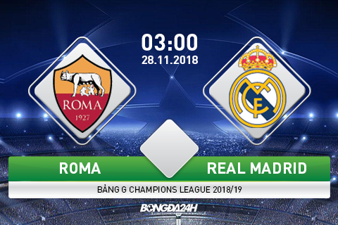 Preview Roma vs Real Madrid