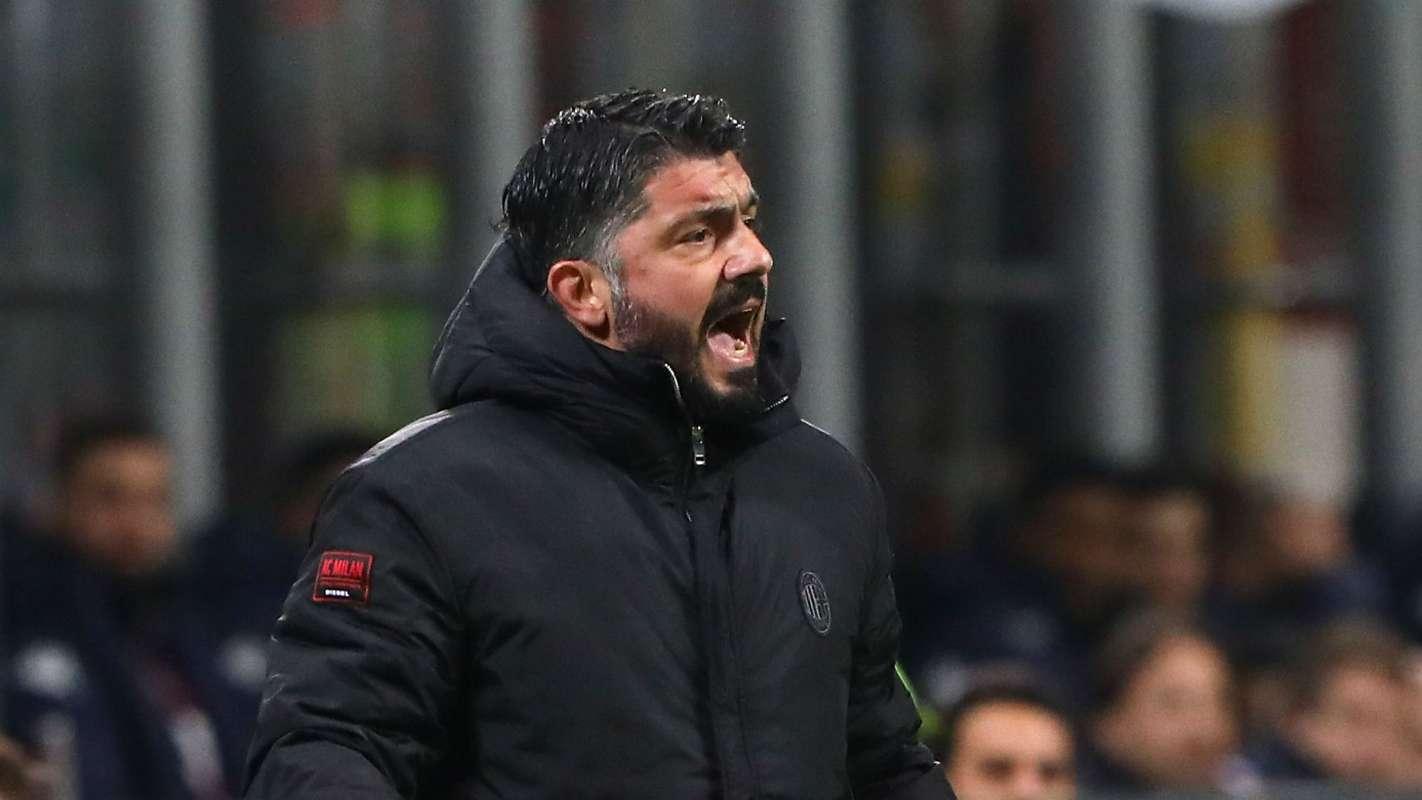AC Milan bi loai tu vong bang Europa League, Gattuso noi xung
