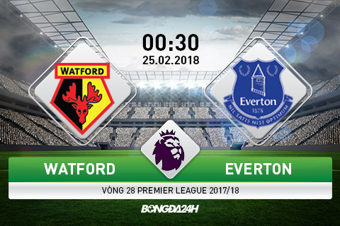 Nhan dinh Watford vs Everton 00h30 ngay 252 (Premier League 201718) hinh anh goc