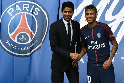 Chu tich PSG de doa Neymar: Khong ai duoc phep lon hon CLB