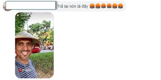 Trọng tài Ahmed Al Kaf bị fan Việt đòi trả lại nón lá hình ảnh gốc 4