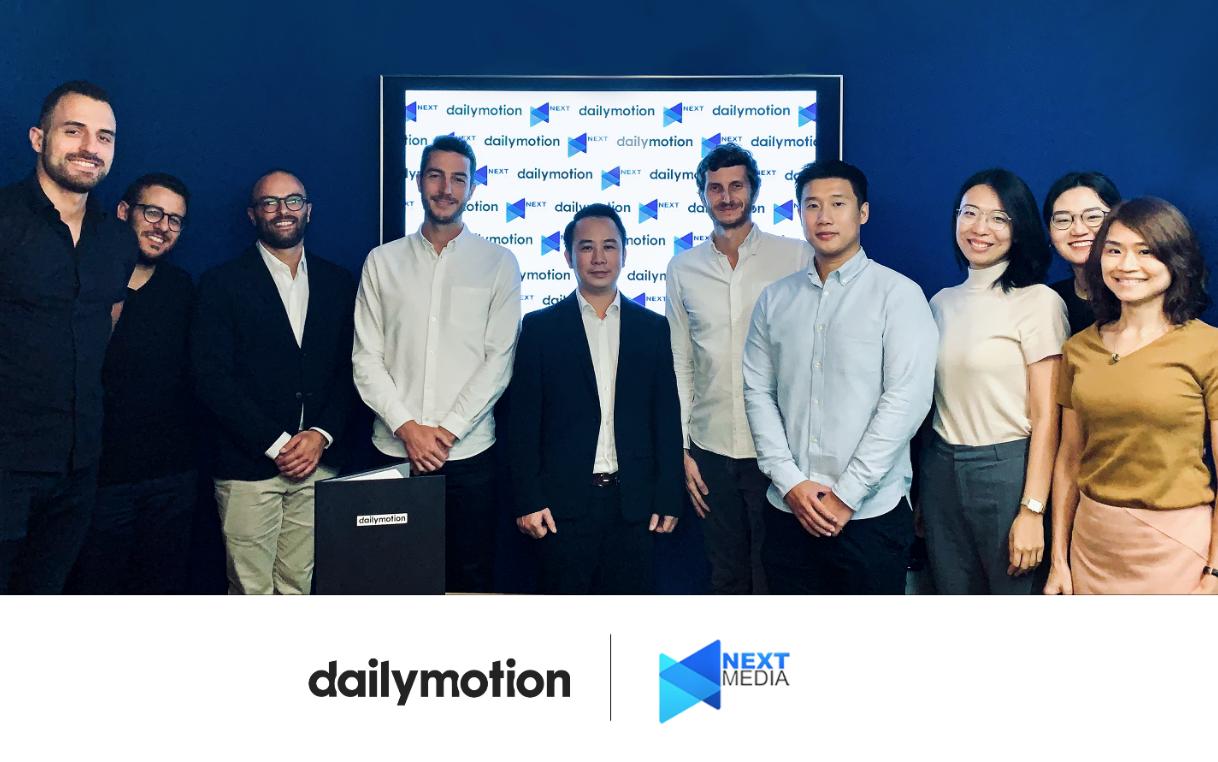 Dailymotion và Next Media hợp tác thương mại độc quyền tại VN hình ảnh