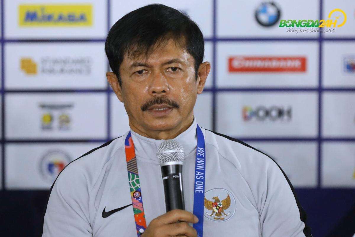 HLV U22 Indonesia tự tin sẽ giành chiến thắng nếu gặp lại U22 Việ hình ảnh