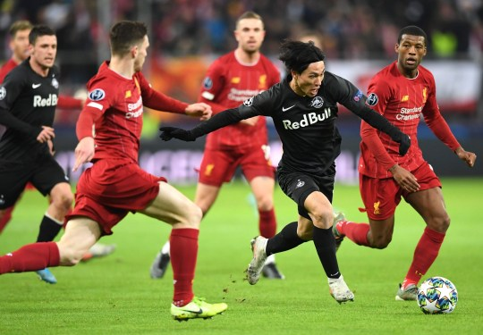 Liverpool mua Takumi Minamino