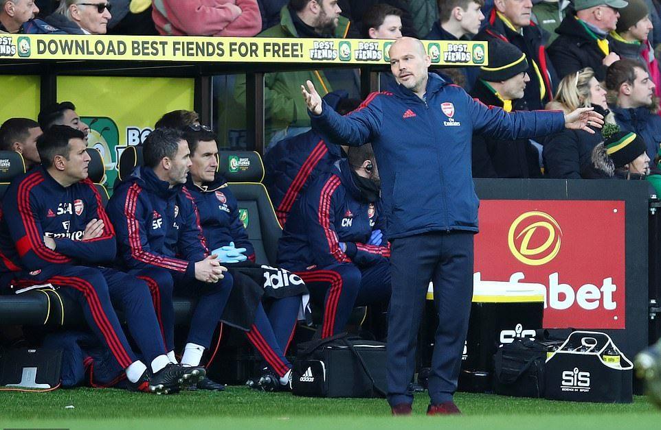 Freddie Ljungberg Nhiệm vụ khơi dậy lòng quyết tâm trong Arsenal hình ảnh