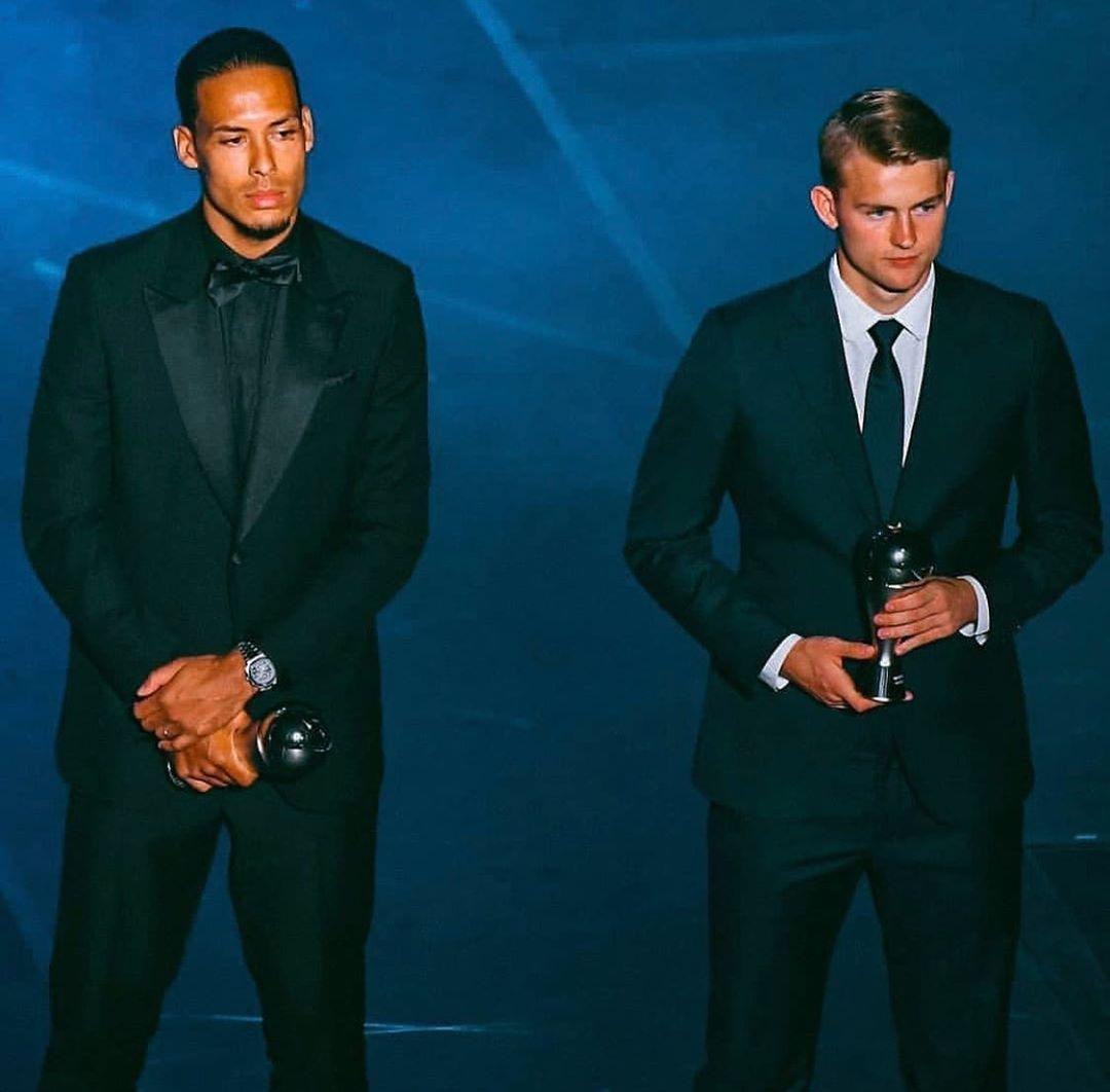 De Ligt được vinh danh trong đội hình The Best FIFA XI 2019