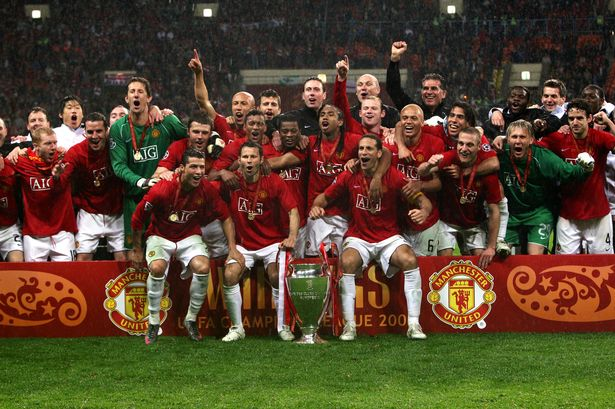 Champions League 2008 Manchester United