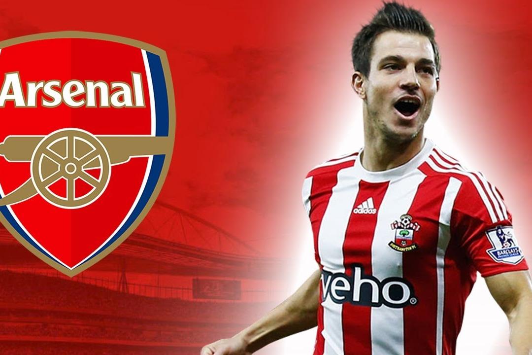 Cedric Soares gia nhap Arsenal