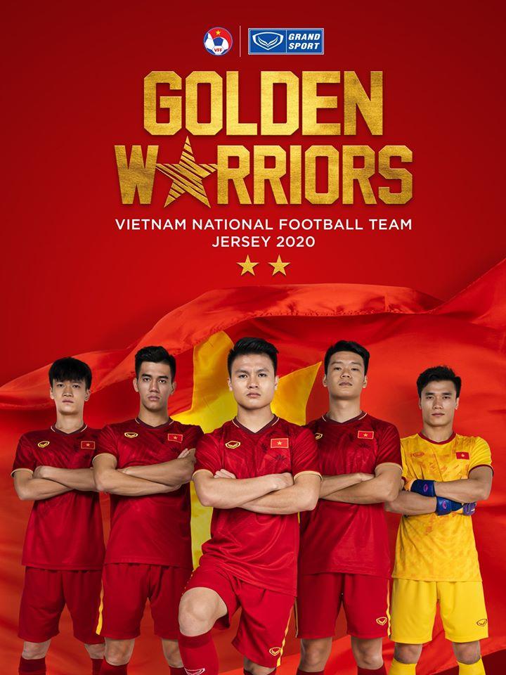 Mẫu áo đấu 2020 của ĐT Việt Nam khiến fan khen hết lời hình ảnh 1