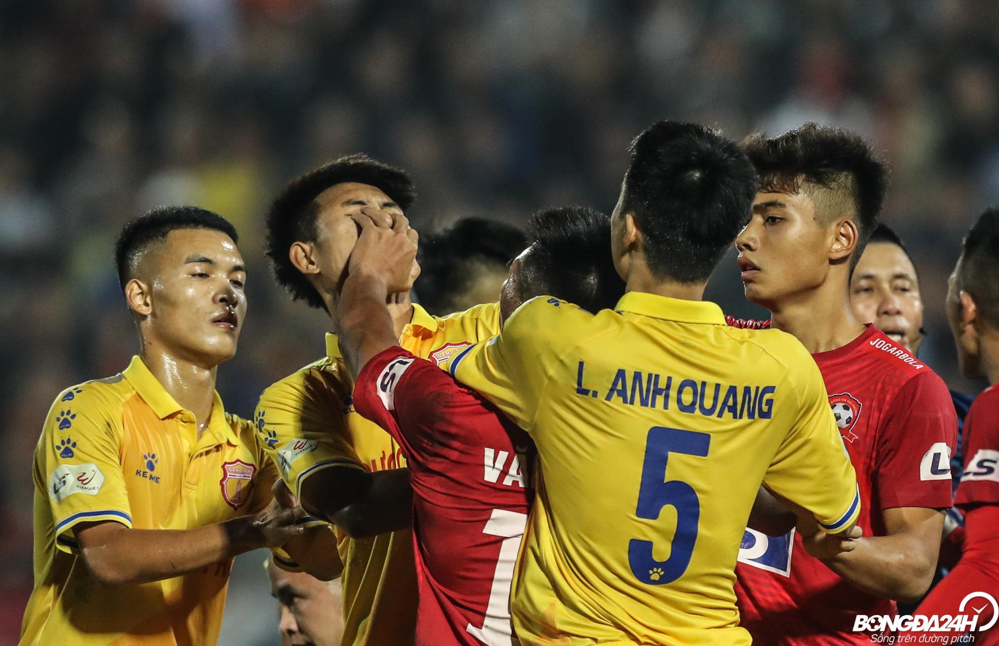 Nguyen Van Hanh Nam Dinh vs Hai Phong