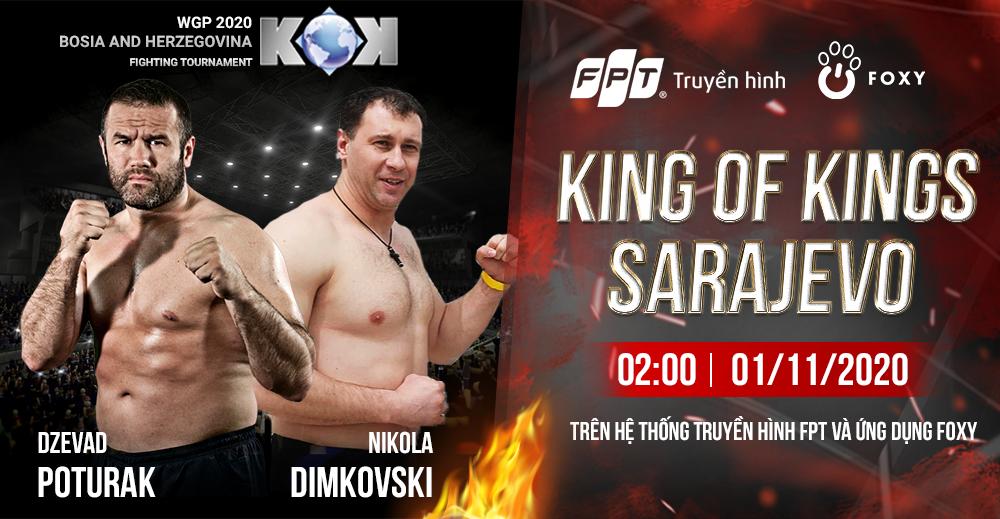 King of Kings, chuỗi sự kiện Kick Boxing đỉnh cao trở lại hình ảnh