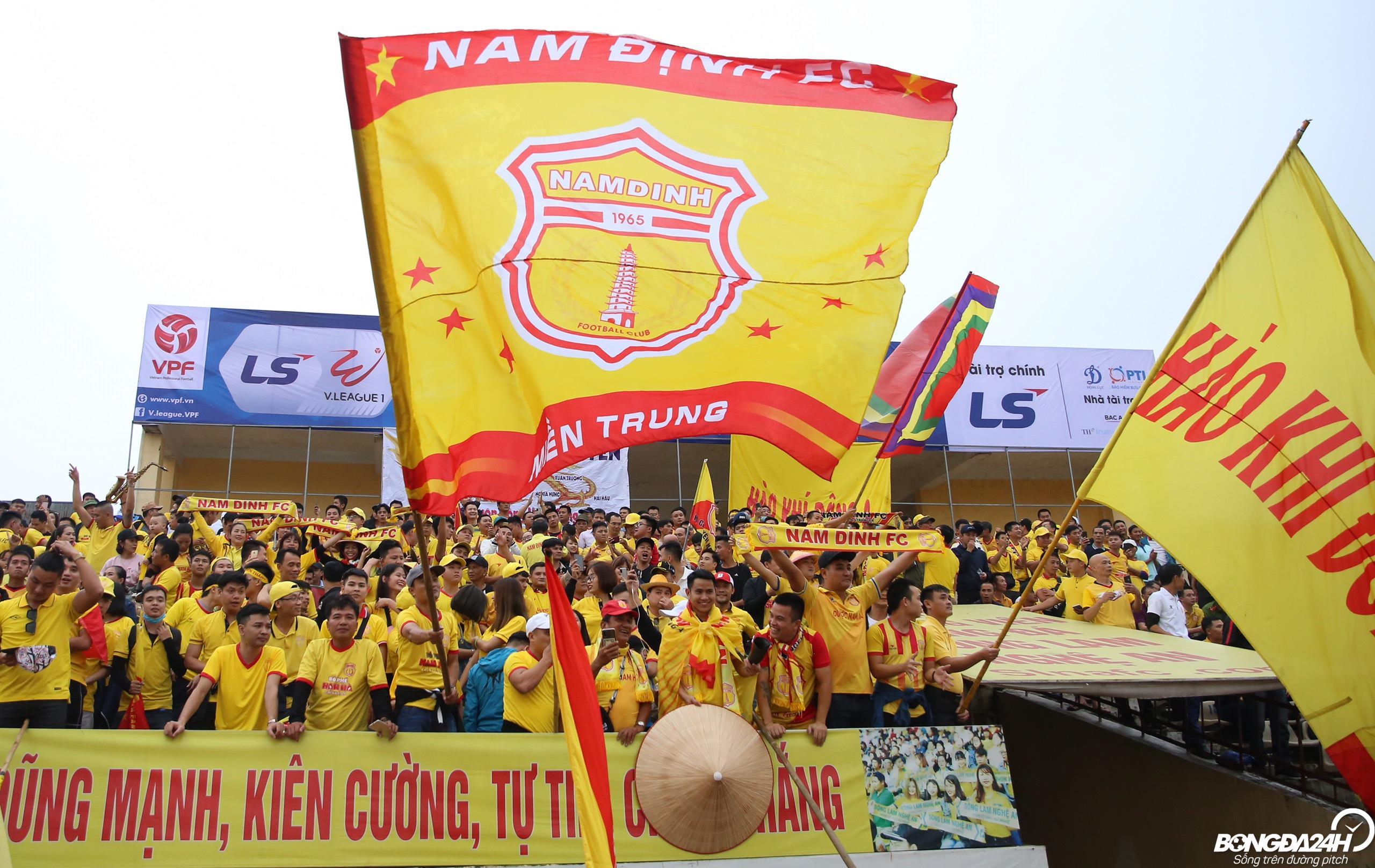 CLB Nam Định dẫn đầu Đông Nam Á về lượng khán giả đến sân hình ảnh