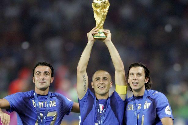 Cristian Zaccardo và khoảnh khắc lên đỉnh thế giới cùng Azzurri hình ảnh