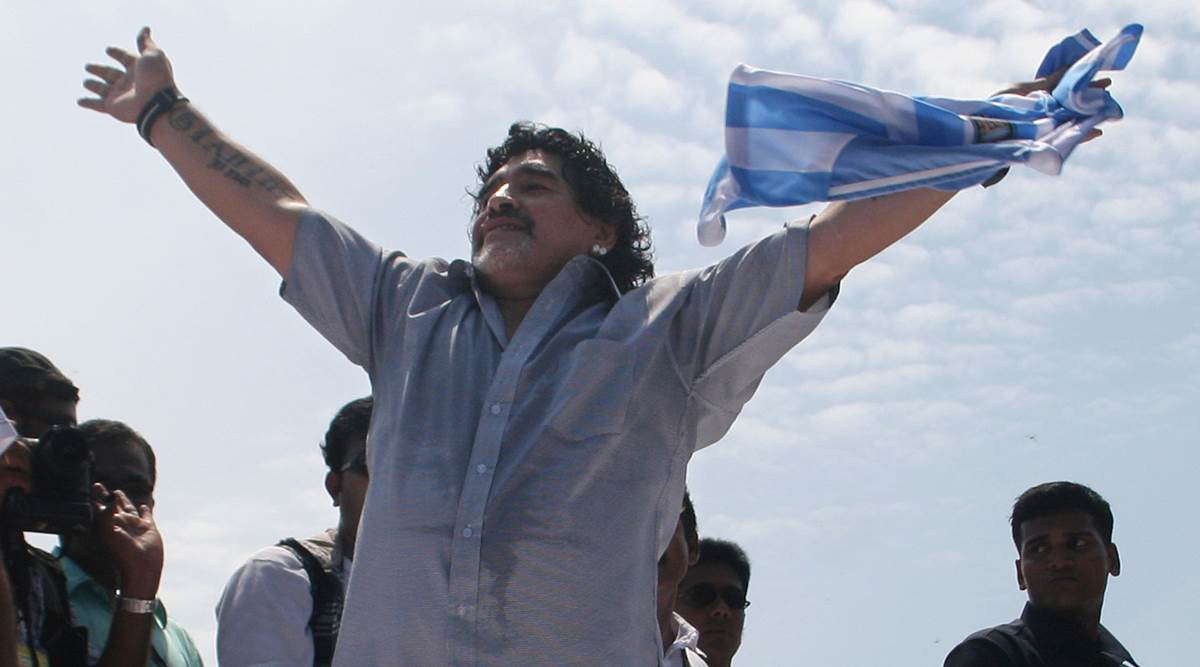 Tạm biệt Diego, tạm biệt Maradona