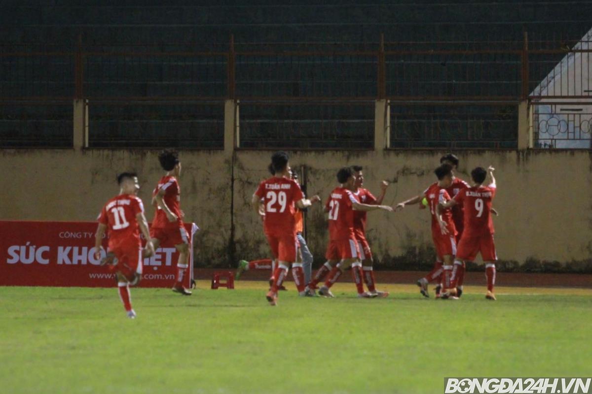 U21 Quốc gia Chủ nhà Khánh Hoà thua ngay trận mở màn hình ảnh
