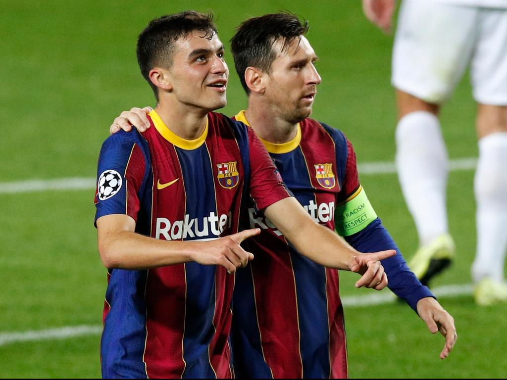 Lionel Messi vẫn là bùa hộ mệnh, nhưng Pedri là tương lai Barca hình ảnh