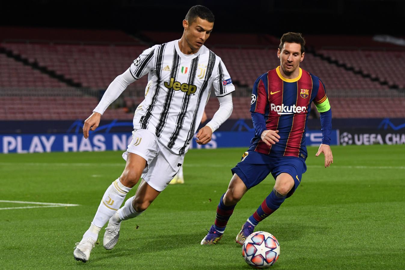 Chiến thắng của Cristiano Ronaldo và thông điệp cho Lionel Messi hình ảnh