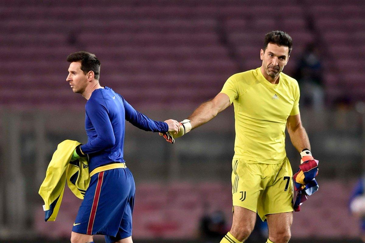 Lionel Messi Gianluigi Buffon