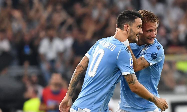 Luis Alberto Ngôi sao sáng của Lazio hình ảnh